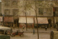 avenue de clichy, paris by maurice dupuis