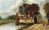 cottages at thorpe, norwich by obadiah short