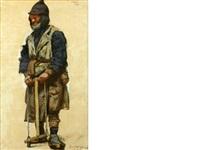 the farmworker by evgeni evgen'evich lansere