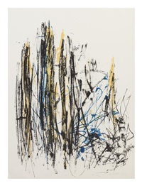 composition iii (trees) by joan mitchell