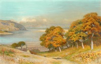 autumn view by walter follen bishop