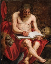 der heilige hieronymus by flemish school-antwerp (17)