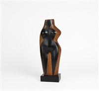 standing figure by elizabeth catlett