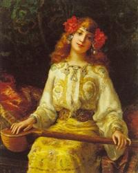a young mandolin player by antonio torres