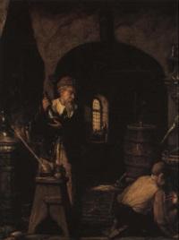 l'alchimiste by benjamin linning