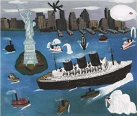 new york harbor by american school (20)