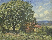 the walnut tree, hill street, launceston by robert richmond campbell