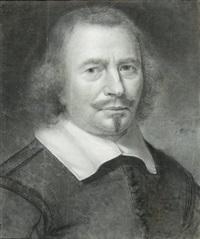 portrait d'homme en buste by wallerant vaillant