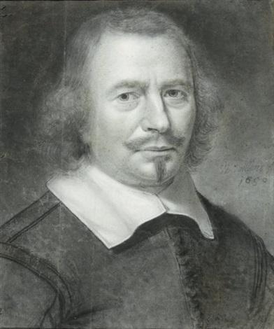 portrait dhomme en buste by wallerant vaillant
