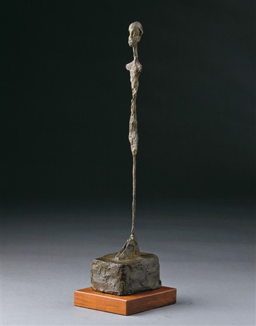 femme debout by alberto giacometti