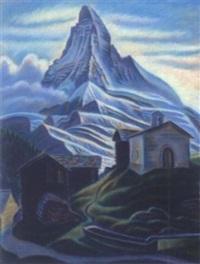 matterhorn by theodor allesch-alescha