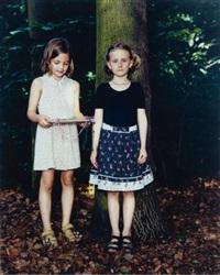 tiergarten, berlin, germany, june 7, 1998 a (2 girls) by rineke dijkstra