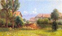 paysage à corenc by louis guiguet