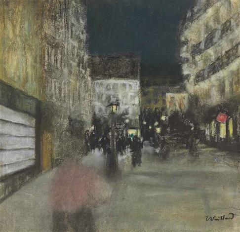 effet du soir by edouard vuillard
