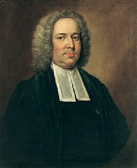 portrait of samuel madden wearing clerical robes by philip hussey