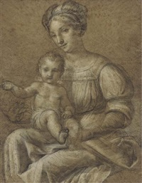 the madonna and child by andrea appiani