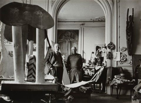 pablo picasso and art dealer daniel henry kahnweiler. Black Bedroom Furniture Sets. Home Design Ideas