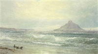 st. michael's mount, england by william trost richards