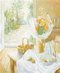 still life with poppies by jean appleton