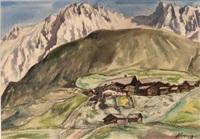 tiroler bergdorf by johannes hepperger
