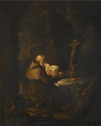 saint jerome by gerrit dou