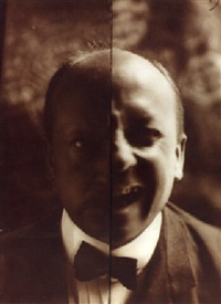 simultaniety of expression - portrait of marinetti by anton giulio bragaglia