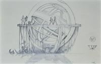le tailleur du rêve - sphères armillaires by claude renard