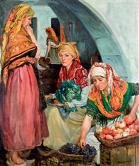 vendedoras de frutas by alvaro alcala galiano
