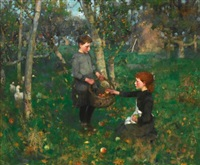in the orchard by james guthrie