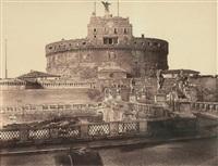 château de saint-ange, rome, italie by james anderson