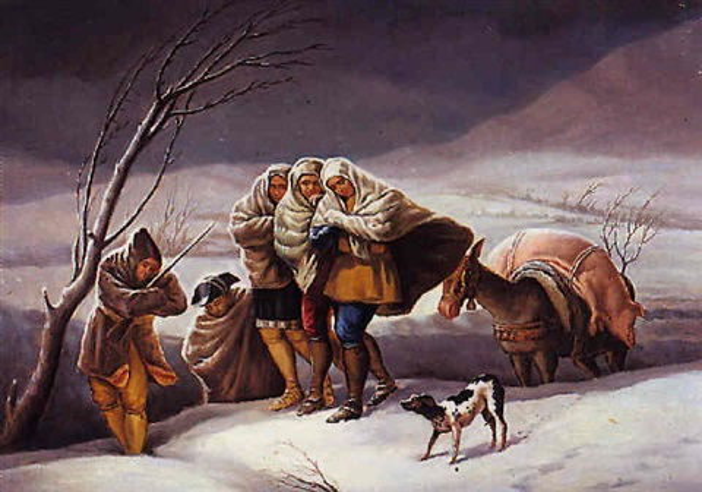 la nevada by josé maria peñuelas
