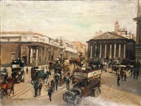 trafalgar square by eugenio scorzelli