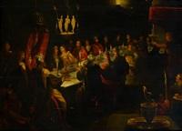 le festin de balthazar by flemish school-antwerp (17)