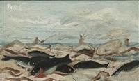 fishermen by william dobell