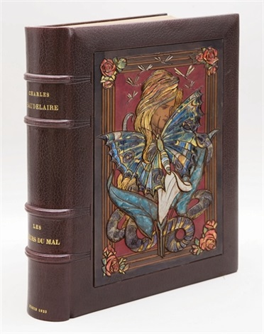 les fleurs du mal bk by charles baudelaire wtext by mcamille mauclair w42 works by almery lobel riche