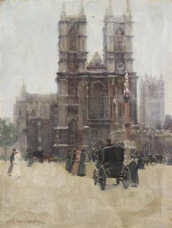 westminster abbey by paul cornoyer