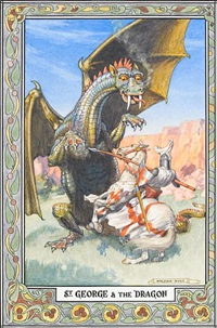 st. george and the dragon by norman ault