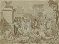 l'école de pythagore by jean françois pierre peyron
