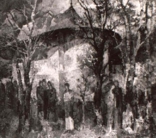 leglise arbore by gheorghe apostu