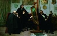 l'atelier du peintre by edouard moyse