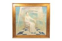 retrato la sra. beatriz cruz by rogelio hermosillo rembaud