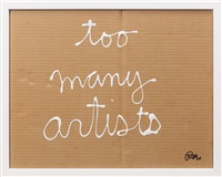 too many artists by ben