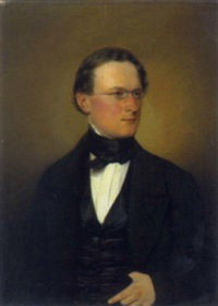 portrait eduard mörikes by götzelberger