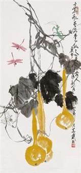 葫芦蜻蜓 by dai lin