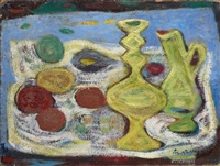 nature morte aux fruits by jean olin