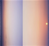 untitled (sunrise in bed) (diptych) by piotr uklanski