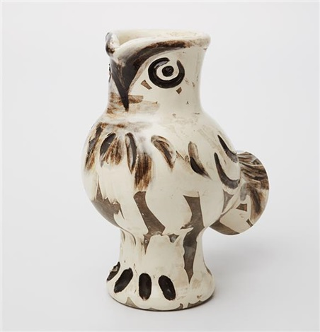 chouette wood owl by pablo picasso