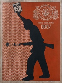 obey visual disobedience by shepard fairey