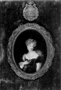 portrait de la duchesse de berry by hippolyte joseph lequeutre