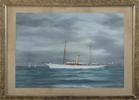the british steamer yacht